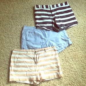 Bundle size 6 shorts j Crew gap banana republic